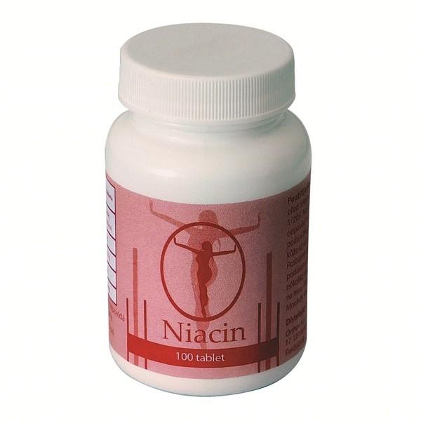 Niacin – je ve vodě rozpustný vitamín